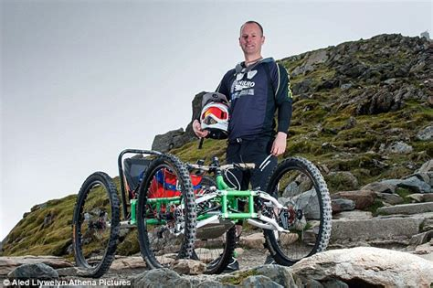 Quadricycle Mountain Bike Could Allow Disabled People To