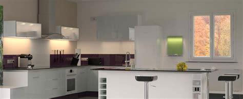 plaque en verre pour cuisine credence en verre pour cuisine maison design bahbe com