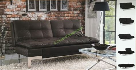 euro lounger sofa bed costco lifestyle solutions euro lounger costcochaser