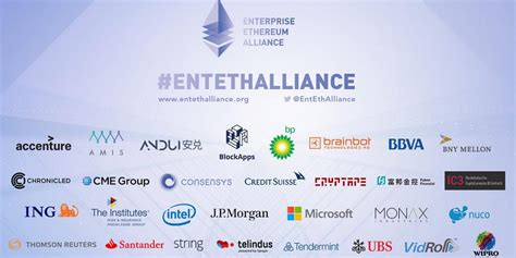 enterprise ethereum alliance disrupts things in blockchain or does it altoros