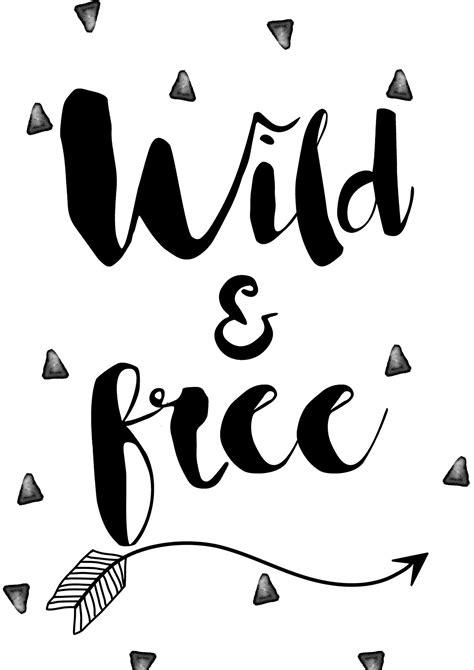 Wild And Free Arrow Print Tribal Nursery And Bedroom Wall