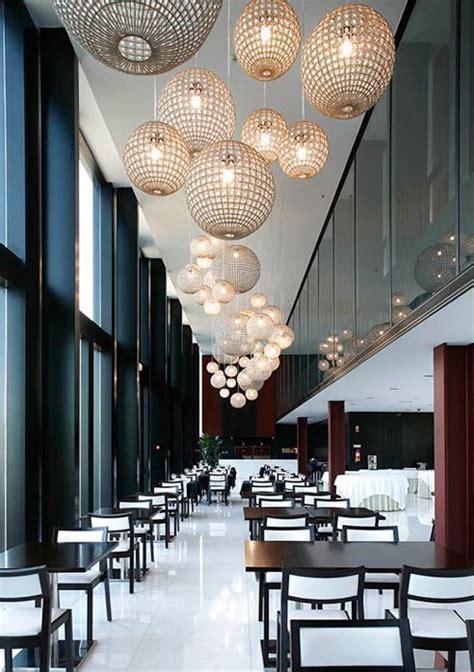 chandelier cafe 25 best ideas about restaurant lighting on