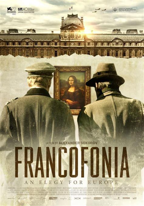 francofonia  filmaffinity