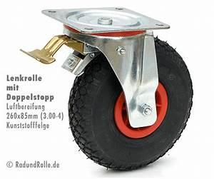 Lenkrollen Mit Bremse : lenk rolle 260 x 85 mm mit totalstopp bzw bremse und kunststofffelge ~ Eleganceandgraceweddings.com Haus und Dekorationen
