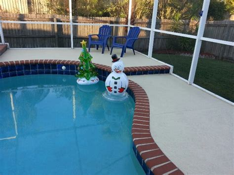 pool christmas decor christmas pinterest