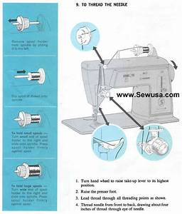 Singer 626 Sewing Machine Threading Diagram