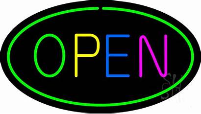 Open Neon Animated Signs Multi Giant Every