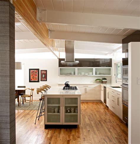 mid century modern kitchen flooring mid century modern residence modern kitchen 9165