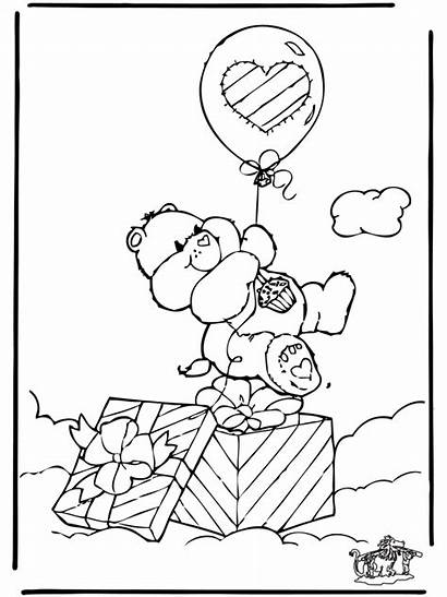 Care Bears Coloring Pages Bear Printable Advertisement