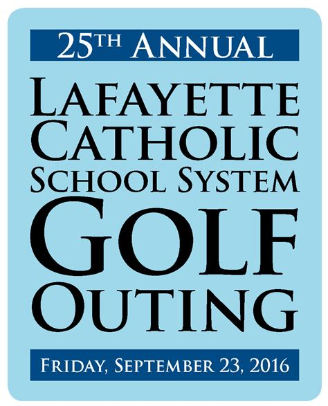 lcss golf outing save date st mary cathedral school