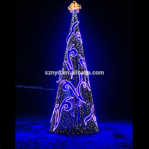 2017 giant artifitial outdoor led christmas tree for
