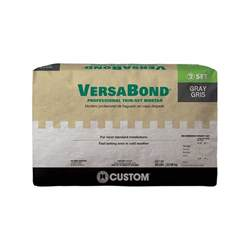 custom building products versabond gray 50 lb fortified