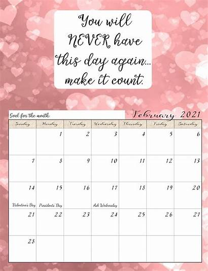Calendar 2021 February Australia Holidays National Template