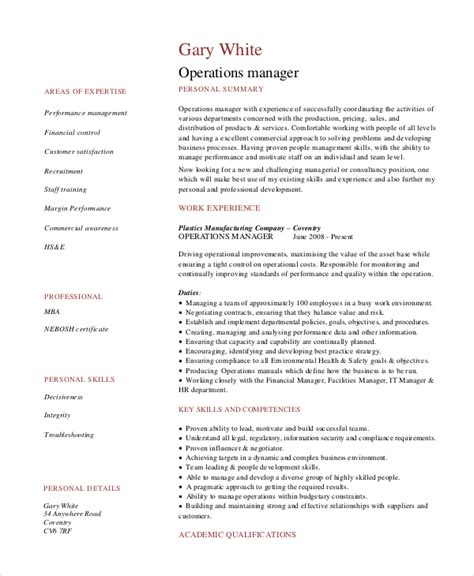 7+ Operations Manager Resume  Free Sample, Example. Hospitality Skills For Resume. What To Write On Skills For Resume. Character Reference Format Resume. Office Assistant Duties On Resume. How To Format References On A Resume. Retail Resume Objective Examples. What Not To Put In Your Resume. Restaurant Cashier Resume