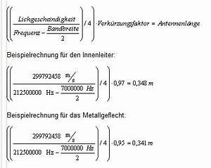 Antennenlänge Berechnen Formel : stab antenne elektronik ~ Themetempest.com Abrechnung