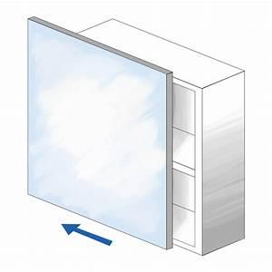 saniclass 20 armoire toilette 60x70x15cm avec 1 porte With porte de douche coulissante avec lampe led miroir salle de bain