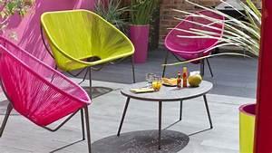 salon de jardin plein d39idees pour faire le bon choix With tapis yoga avec canape en resine exterieur