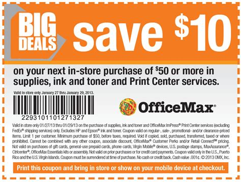 Office Depot Coupons Printable 2015 by Office Max Discount Coupons I9 Sports Coupon