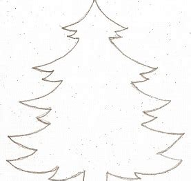 christmas tree patterns to cut out tree cut out pattern clipart best