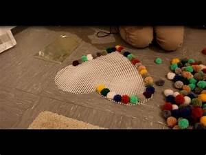 Pompon Selber Machen : diy pompon bommel teppich selber machen pompon bobble carpet tutorial youtube ~ Orissabook.com Haus und Dekorationen