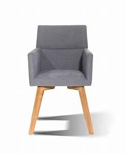 Stühle Mit Stoffbezug : sam esszimmerstuhl armlehnstuhl mit stoffbezug in grau 4735 21 demn chst ~ Markanthonyermac.com Haus und Dekorationen