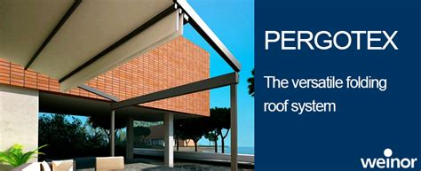 weinor pergotex adjustable folding roof system weinor retractable fabric roof cover samson