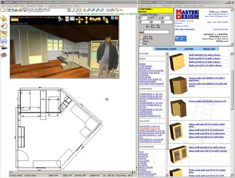 kitchen furniture design software filegets master design shop x lite screenshot
