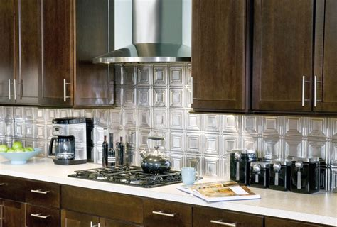 kitchen metal backsplash metal backsplash tiles armstrong ceilings residential