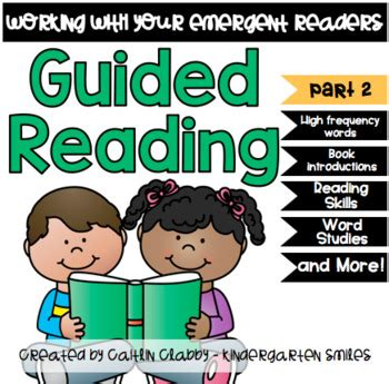 Guided Reading Starter Kit (part 2) By Kindergarten Smiles  Caitlin Clabby  Teachers Pay Teachers