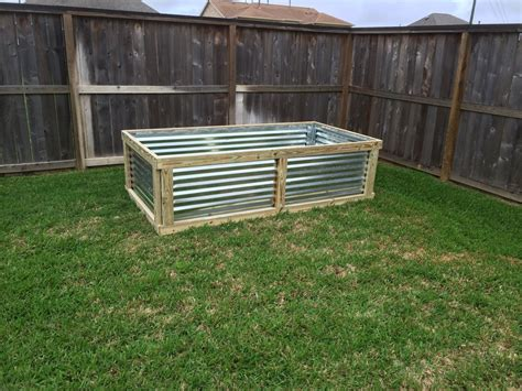 corrugated metal raised garden beds magnificent 25 diy