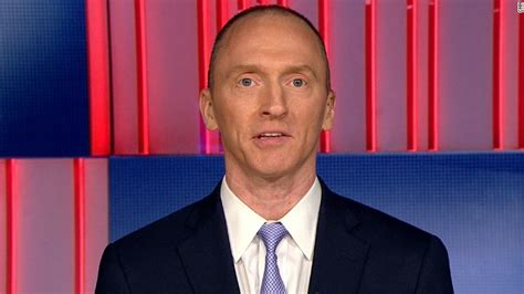carter page    comment  fbi investigations