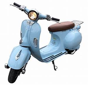 Scooter Electrique 2 Places : scooter lectrique 2 twenty roma 57 2900w bleu azur ~ Melissatoandfro.com Idées de Décoration