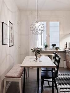 la salle a manger scandinave en 67 photos archzinefr With salle À manger contemporaine avec mobilier deco scandinave