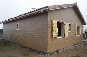 Hangar En Kit Bois : kit maison ossature bois pas cher boismaison ~ Premium-room.com Idées de Décoration