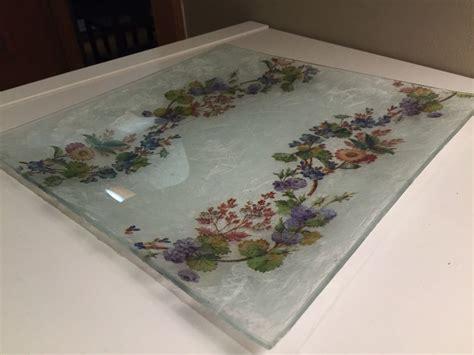 decoupage en vidrio decoupage decopage vidrio