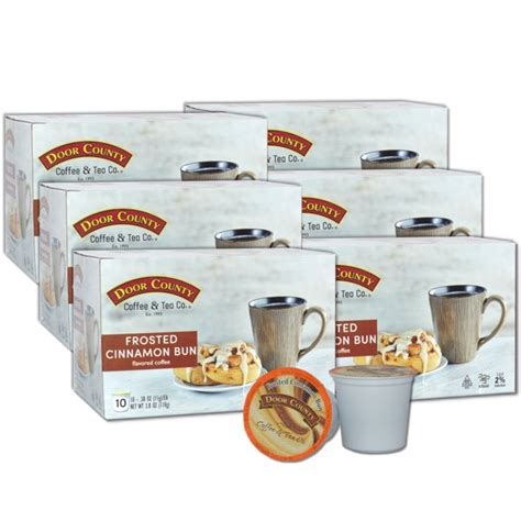 Make use of these 33 offers from door county coffee & tea co. Door County Coffee Frosted Cinnamon Buns Flavored Specialty Single-Serve Coffee Pods, Medium ...