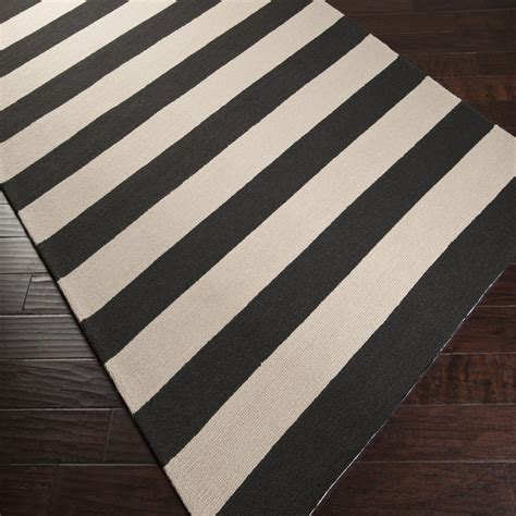 black  white striped area rug decor ideasdecor ideas