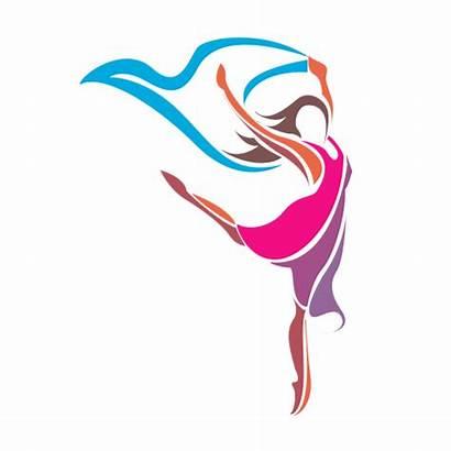 Dance Logos Studio Female Artistic Entertainment Designer