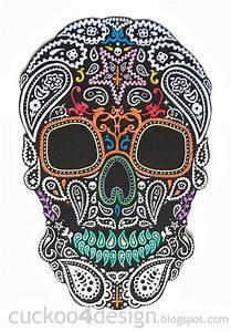DIY Halloween Mexican skull wall art Cuckoo4Design