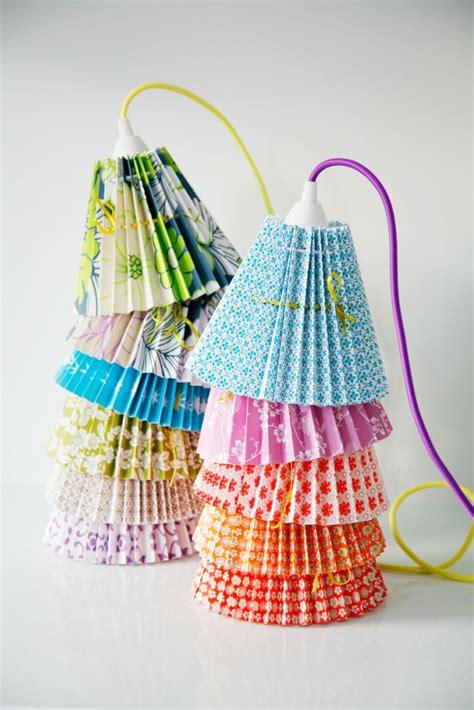 lampenschirme selber machen  inspirierende bastelideen