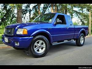 2004 Ford Ranger 4dr Supercab Edge 4x4 5 Speed  5 Speed