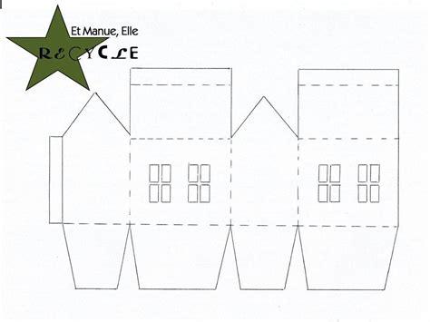 des maisons en papier tuto