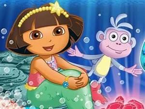Dora the Explorer - Dora Saves The Mermaids - Part 1 of 9 ...