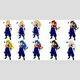 Goku All Super Saiyan Forms 1 100 | 680 x 342 png 247kB
