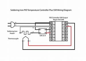 K Type Temperature Controller Circuit Diagram