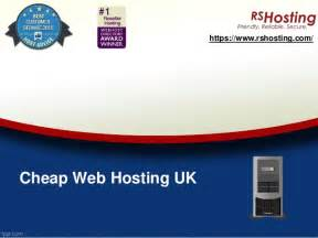 Looking for a reliable hoster? Cheap web hosting UK