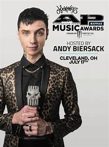 Andy Biersack Announced as Host of the 2017 ALTERNATIVE ...
