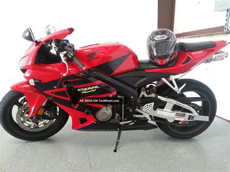 honda rr bike 2006 black red honda cbr rr motorcycle