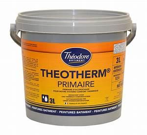 Primaire D Accrochage Exterieur : theotherm primaire 3l peinture primaire murs et ~ Premium-room.com Idées de Décoration