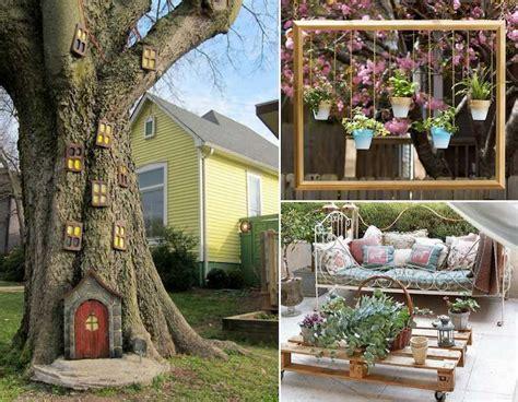 decor de jardin  faire soi meme  idees pas cheres